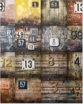 Plakat Urban art collage