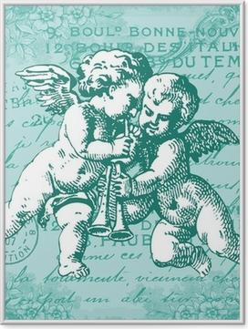 Plakát v rámu Les Bleus anges