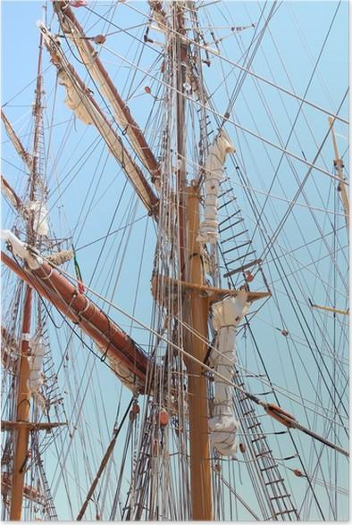 Plakát Velké plachetnice - Lodě