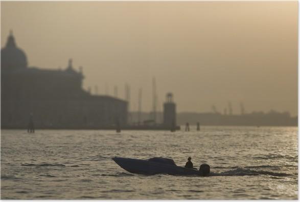 Plakat Venecia - Pejzaż miejski