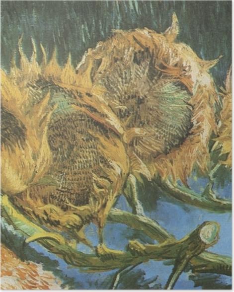 Plakat Vincent van Gogh - Cztery ścięte słoneczniki - Reproductions