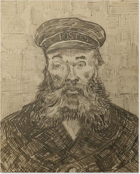 Plakat Vincent van Gogh - Listonosz Joseph Roulin - Reproductions