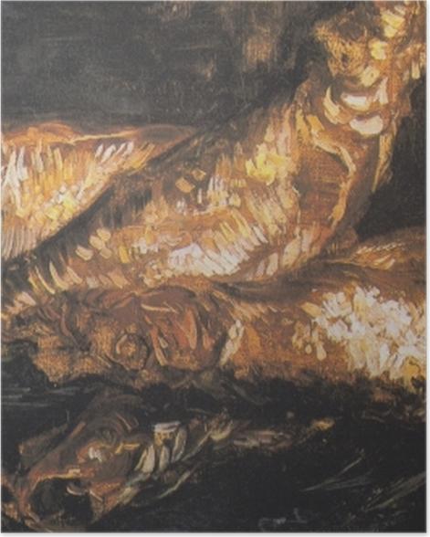 Plakat Vincent van Gogh - Martwa natura z rybami - Reproductions