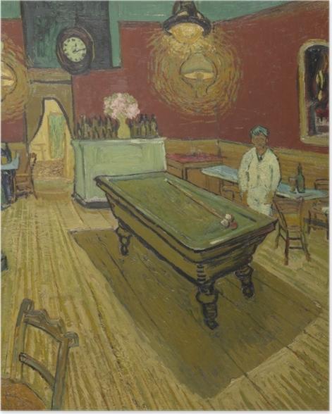 Plakat Vincent van Gogh - Nocna kawiarnia - Reproductions