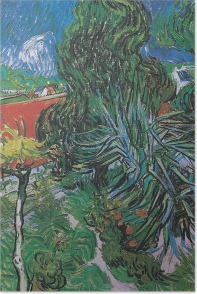 Plakat Vincent van Gogh - Ogród dr. Gacheta w Auvers - Reproductions