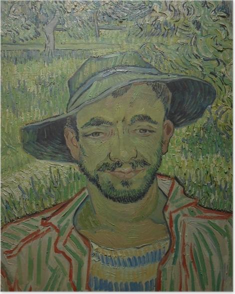 Plakat Vincent van Gogh - Ogrodnik - Reproductions
