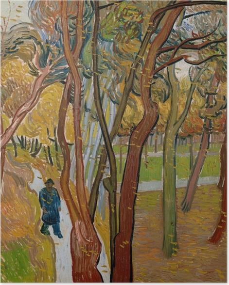 Plakat Vincent van Gogh - Opadające liście - Reproductions
