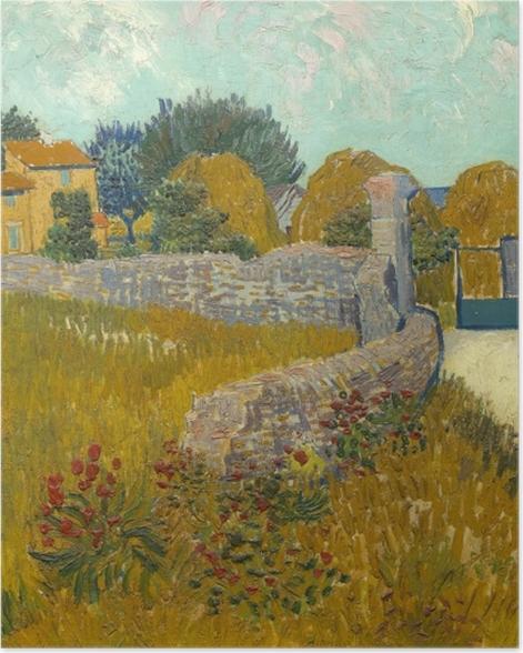 Plakat Vincent van Gogh - Pole ze zbożem - Reproductions