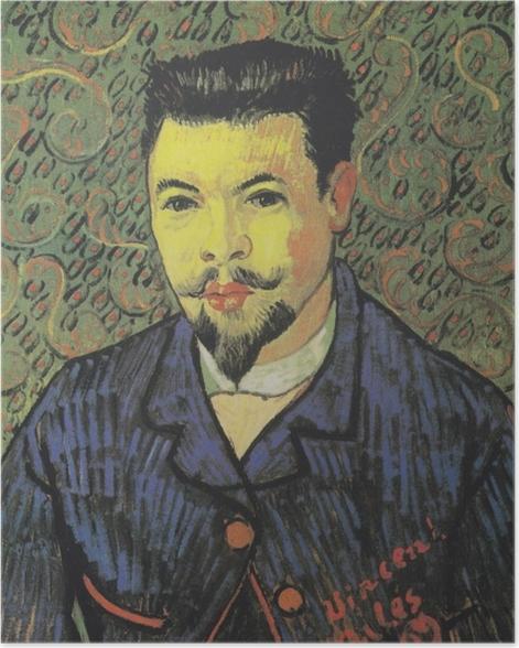 Plakat Vincent van Gogh - Portret doktora Felixa Reya - Reproductions