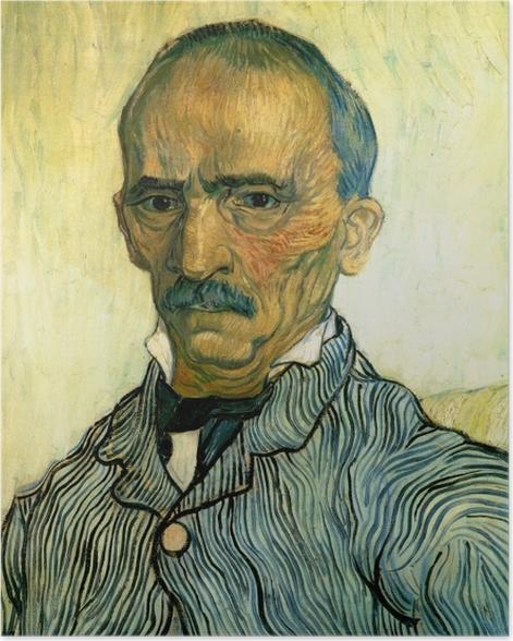 Plakat Vincent van Gogh - Portret inspektora szpitala św. Pawła - Reproductions