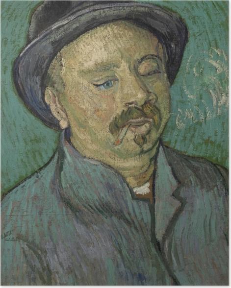 Plakat Vincent van Gogh - Portret osamotnionego mężczyzny - Reproductions