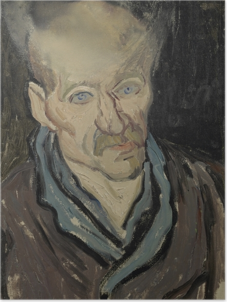 Plakat Vincent van Gogh - Portret pacjenta szpitala św. Pawła - Reproductions