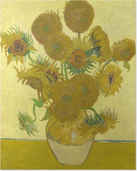 Plakat Vincent van Gogh - Słoneczniki - Reproductions