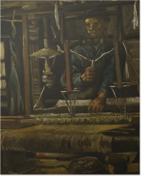 Plakat Vincent van Gogh - Tkacz - Reproductions