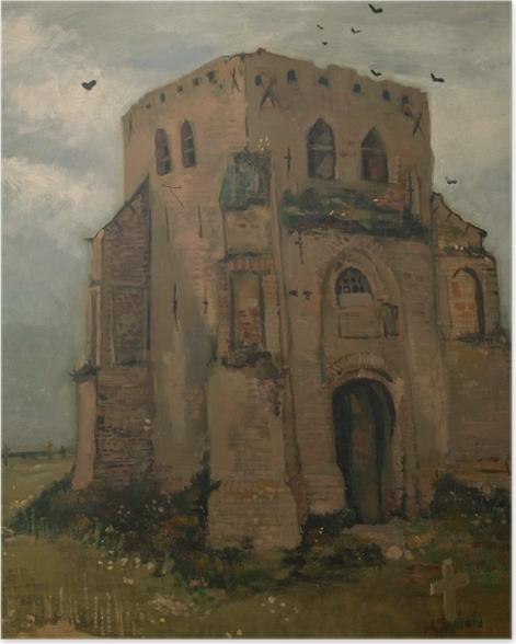 Plakat Vincent van Gogh - Wieża starego kościoła w Neunen - Reproductions