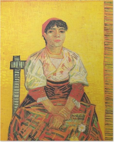 Plakat Vincent van Gogh - Włoszka - Reproductions