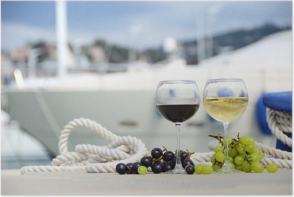 Plakát Víno a vinné hrozny - Témata