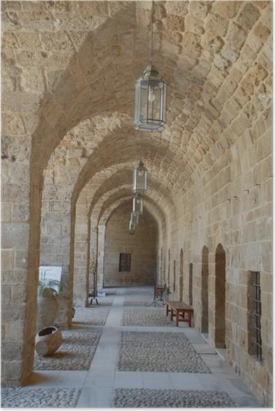 Plakát Vstup do Khan el-rány, Sidon (Libanon) - Střední Východ