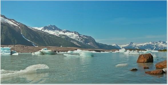 Plakát Walker ledovec na Aljašce - Příroda a divočina
