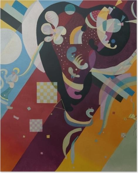 Plakat Wassily Kandinsky - Kompozycja X - Reprodukcje