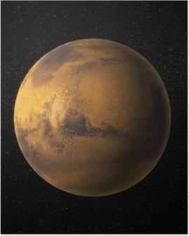 Plakat Widok z Marsa