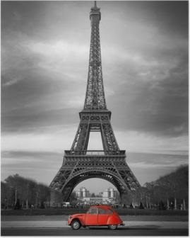 Plakaty Paryż Grafika Pixers żyjemy By Zmieniać