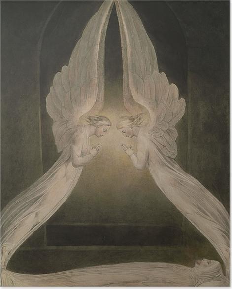Plakat William Blake - Chrystus złożony do grobu - Reprodukcje