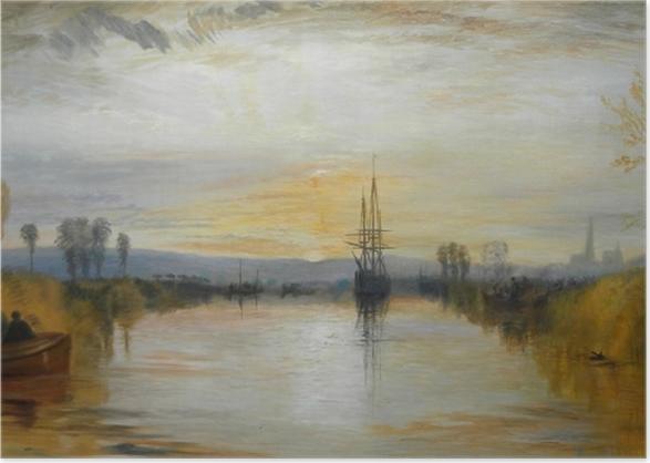 Plakat William Turner - Kanał Chichester - Reprodukcje