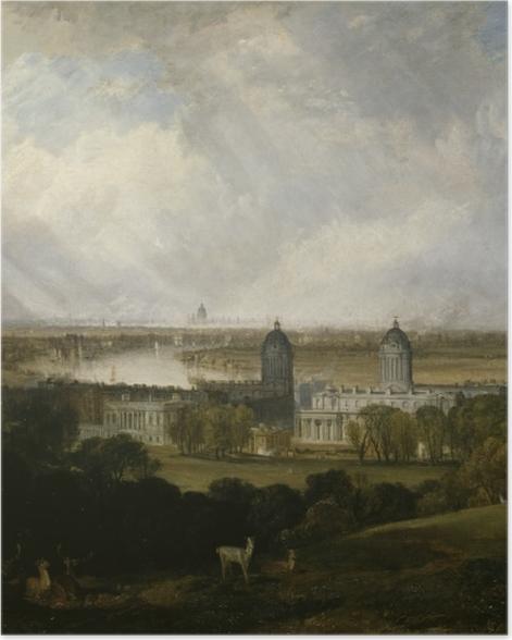 Plakat William Turner - Londyn - Reprodukcje