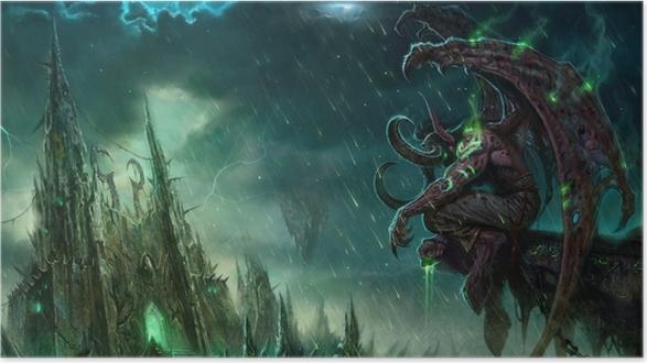 Plakat World of Warcraft - Tematy