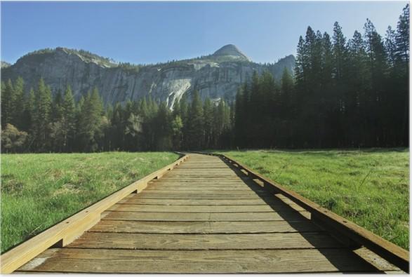 Plakát Yosemite - Hory