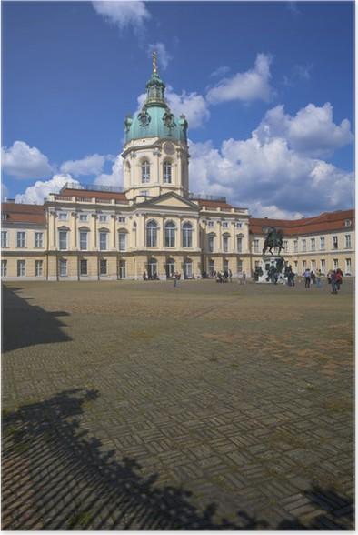 Plakát Zámek Charlottenburg, Berlín, Německo - Prázdniny