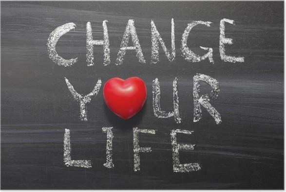 Plakát Změnit svůj život - Značky a symboly