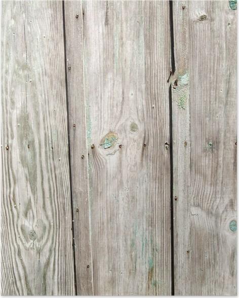 Plakát Zvětralý plotu - Pozadí