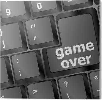 Anahtarla üzerinde Oyun Ile Bilgisayar Klavye Teknoloji Arka Plan