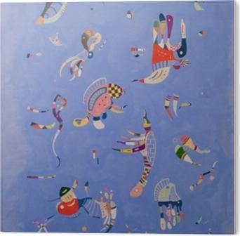 Plexiglas Print Wassily Kandinsky - Hemelsblauw