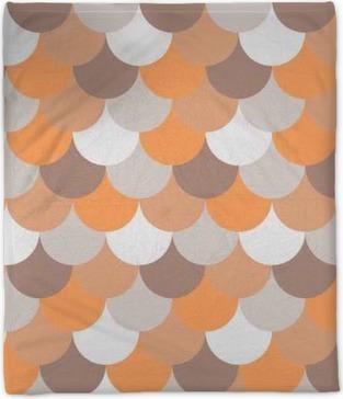 abstract seamless geometric pattern Plush Blanket