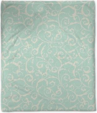 seamless vintage pattern Plush Blanket