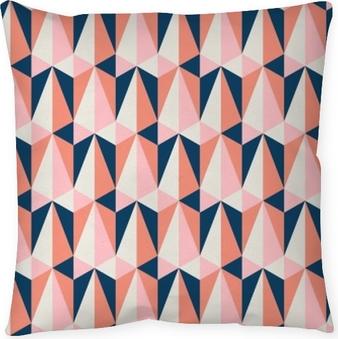 Poduszka dekoracyjna Bez szwu retro wzór
