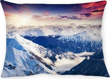 Poduszka dekoracyjna Górski krajobraz