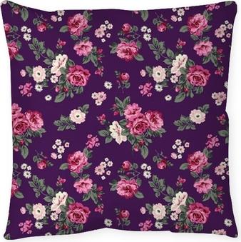 Poduszka dekoracyjna Wspaniałe róże powtarzalne tła