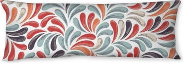 Poduszka relaksacyjna Abstract kolorowy wzór