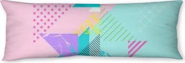 Poduszka relaksacyjna Streszczenie kolorowy skład geometryczny