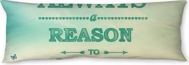 Poduszka relaksacyjna Zawsze jest powód do uśmiechu!