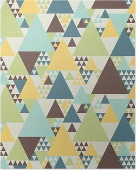 Poster Abstrakte geometrische Muster # 2