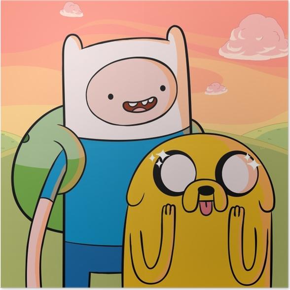 Verschiedene Nerd- und Comicfiguren aus Adventure Time