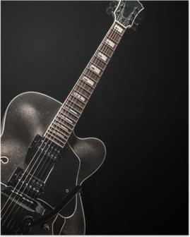 Poster Akkustikgitarre