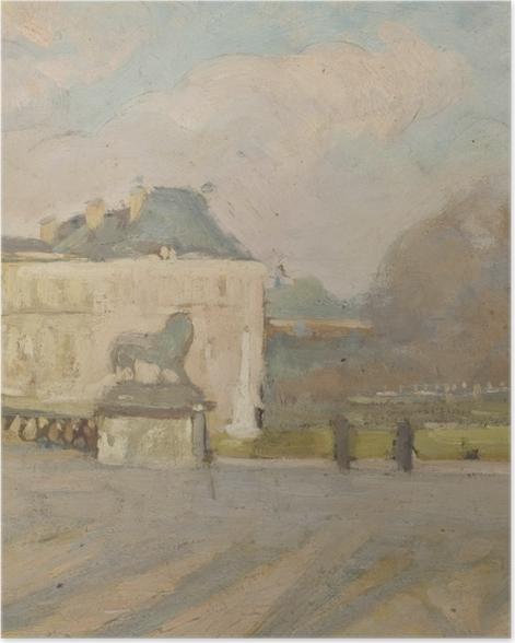 Poster Albert Marquet - Blick auf den Luxemburgischen Palast - Reproductions