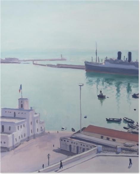 Poster Albert Marquet - Hafen von Algier, Admiralsgebäude - Reproductions