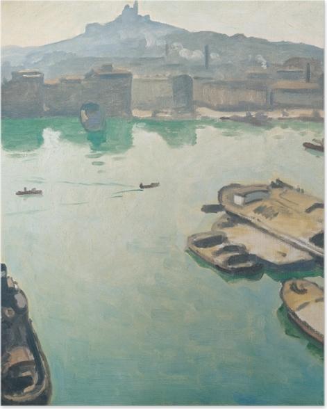 Poster Albert Marquet - Hafen von Marseille - Reproductions